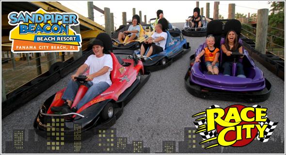 Race City Panama Beach S Largest Fun Center Arcade
