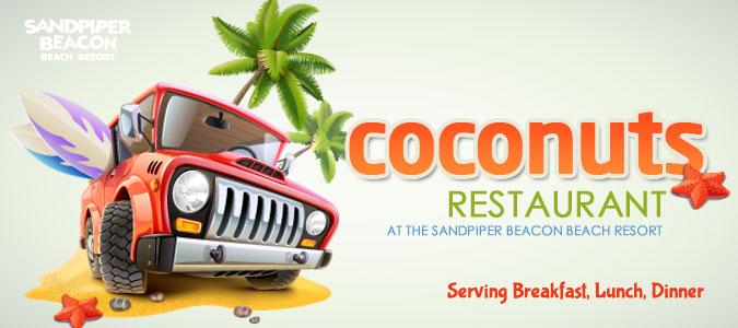 Coconuts Restaurant Panama City Beach