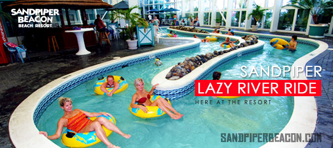 Hotels In Panama City Beach >> Panama City Beach Lazy River Ride Sandpiper Beacon